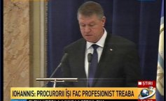 "Iohannis, at the DNA annual report presentation: In 2014, the institution worked ""at full speed"". The recovery of damages mandatory"