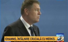 "President Klaus Iohannis, crucial meeting with Angela Merkel. ""Romania enjoys Germany's support"