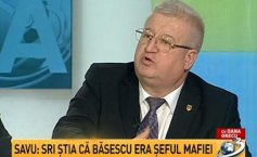On Today's agenda. Daniel Savu: SRI knew Băsescu was the head of the mafia