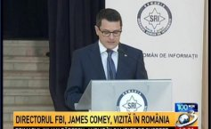 FBI Director visit to Romania. James Comey: Cybercrime is a priority for the FBI