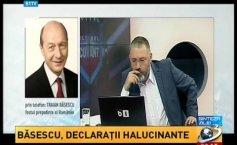 Traian Băsescu, hallucinating statements. What he says about his intervention in the ALRO case