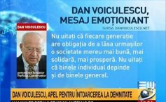 Dan Voiculescu, touching message conveyed on Easter