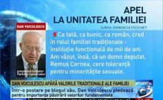 Dan Voiculescu defends traditional family values