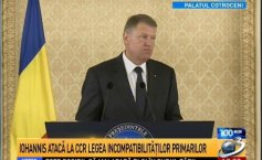 Klaus Iohannis: I do not agree with the amendments to the Criminal Code