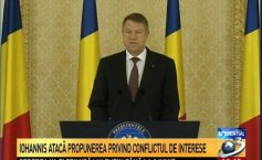 President Klaus Iohannis is opposing the amendment of the Criminal Code. The message conveyed by the Presidency