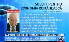 Dan Voiculescu, solutions to the Romanian economy