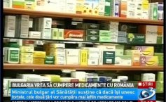 Bulgaria proposes Romania to buy drugs together. What will happen with their price