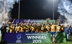 Romania's national rugby team WON the World Nations Cup