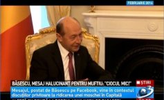 Basescu's delirium. The former president ATTACKS the Mufti of the Muslim Cult in Romania