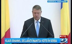 Iohannis: Romania supports the beginning of negotiations by the end of the year for Serbia's accession in the European Union