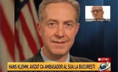 Hans Klemm has been approved as the USA Ambassador to Bucharest