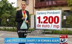 Land prices rise sharply in Romania again