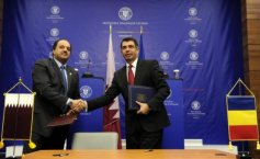 Romania – Qatar cooperation agreement, signed at the MFA headquarters
