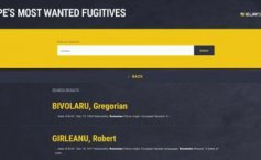 Two Romanians, on the list of Europe's most wanted