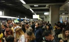 Another incident at the subway in Bucharest. Underground traffic is delayed