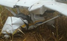 Small plane crash in Arges County