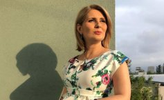 "Sandra Stoicescu: ""Papa Francisc m-a binecuvântat"" - VIDEO"