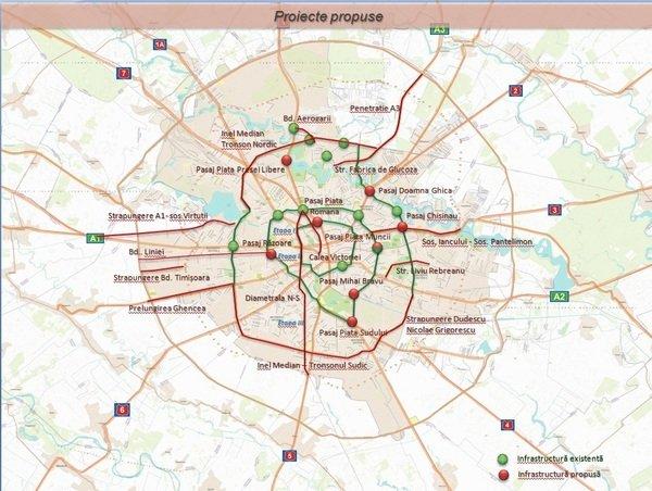Bucuresti Un Imens Santier Harta Zonelor Care Intră In Reparaţii