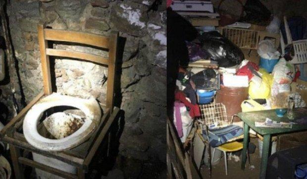 Românca a fost ţinută sechestrată timp de 10 ani, în Italia, într-o grotă sub pământ