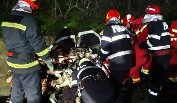 Patru tineri morţi într-un cumplit accident rutier în Balş, Olt