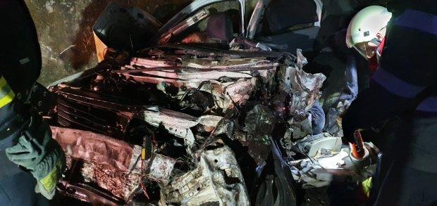 Imagini de groază de la cumplitul accident din Balş, Olt