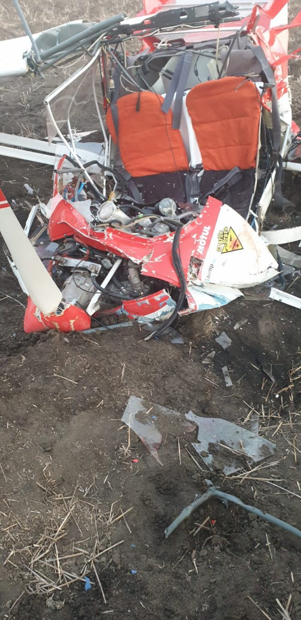 Avion prăbușit în zona localității Șiria din Arad