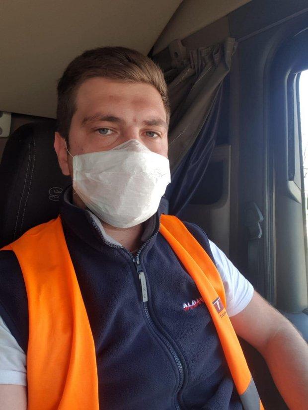Cătălin Iftima, șofer român de TIR, obligat să stea în cabină 14 zile în Ungaria