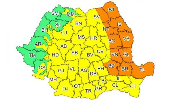 Avertizare meteo de vreme severă imediată în București și Ilfov: furtună, grindină și descărcări electrice