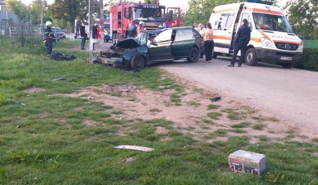 Tânăr mort într-un accident în Moșteni, Teleorman