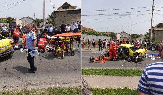 Accident cu morți în Craiova, după impactul între un taxi și un BMW
