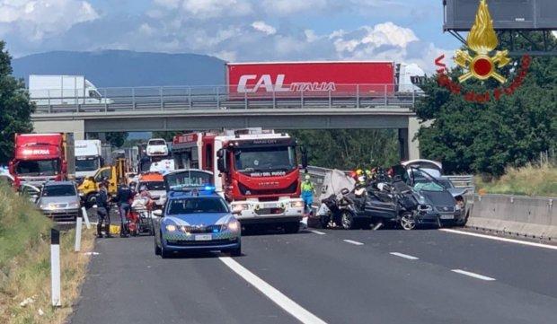 Patru români morți într-un cumplit accident în Italia