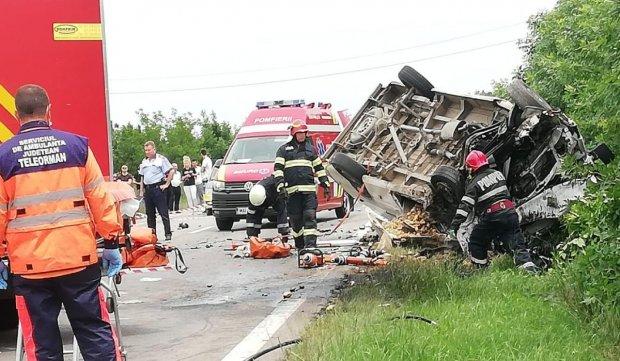 Accident cu trei morți în satul Văceni din Teleorman