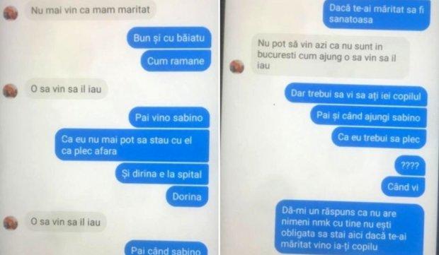 Ultimele mesaje ale Sabinei, tânăra mamă ucisă la Ghimpați