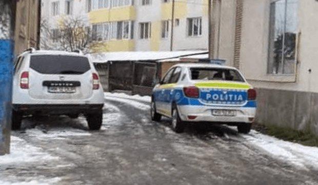 Maşina de Poliţie atacată în Ponorâta, Maramureş