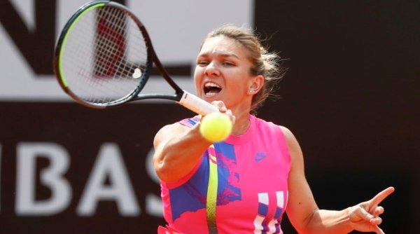 Simona Halep s-a calificat în semifinalele turneului de la Roma, fără să joace tot meciul. Cum a fost posibil