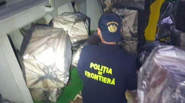 Contrabandă cu ţigări în Portul Agigea. Marinari sirieni, prinşi cu focuri de armă