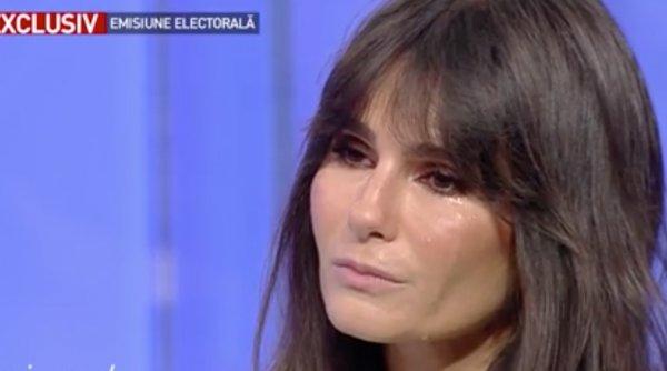 """Dana Budeanu, în lacrimi la Antena 3: """"Îmi cer scuze pentru prosteala asta"""" - Ce a făcut-o să plângă în direct"""