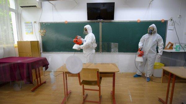 Explozie de cazuri de COVID-19 în școli! Unități de învățământ închise și cursuri suspendate