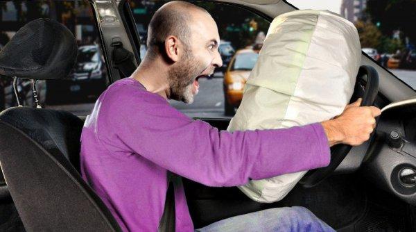 Atenţie, şoferi! Azotatul de amoniu de la airbag-uri provoacă explozii