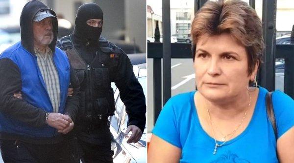 Gheorghe Dincă a izbucnit în lacrimi când mama Luizei Melencu s-a apropiat de el în sala de judecată