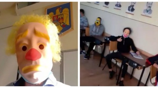 Klaus Iohannis, despre profesorul care a parodiat obligativitatea măştii în şcoli: ''Este jalnic!''