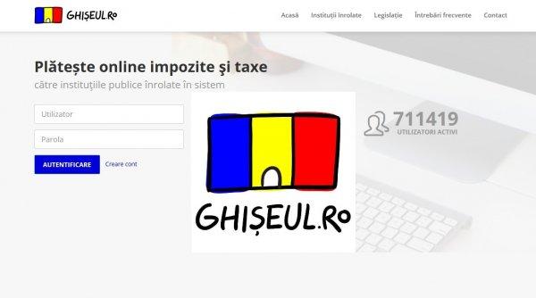 Plata pentru permisul de conducere și certificatul de înmatriculare se poate face online pe Ghișeul.ro