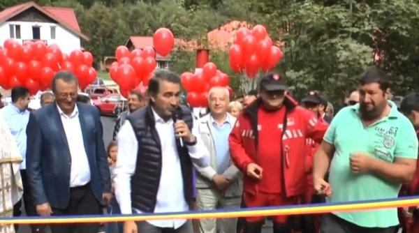 Drumul de la poalele muntelui Ceahlău, inaugurat cu fast de autoritățile din Neamț