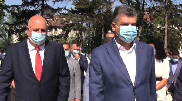 """Președintele PSD, Marcel Ciolacu, vizită în comunele din Iași: """"Realizări palpabile, nu promisiuni"""""""