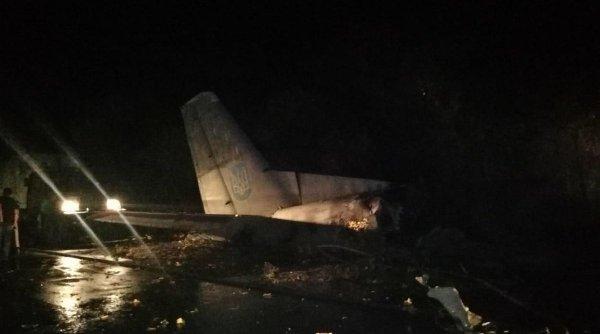 Tragedie aviatică în Ucraina. Zeci de morți după ce un avion militar s-a prăbușit în estul țării