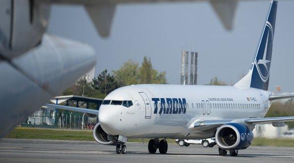 Un avion TAROM a aterizat de urgență pe Aeroportul Otopeni. 187 de pasageri, debarcați de urgență