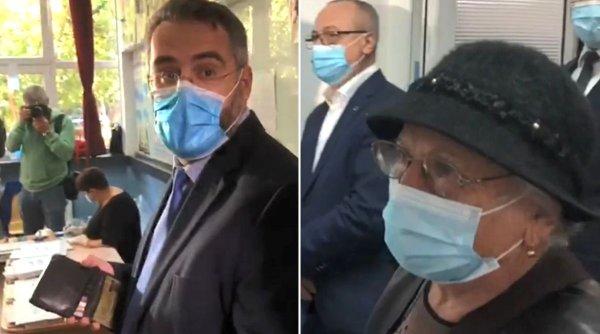 """Adrian Moraru, candidatul PNL la Sectorul 3, s-a băgat în fața oamenilor la secția de votare: """"Aveam programare"""""""