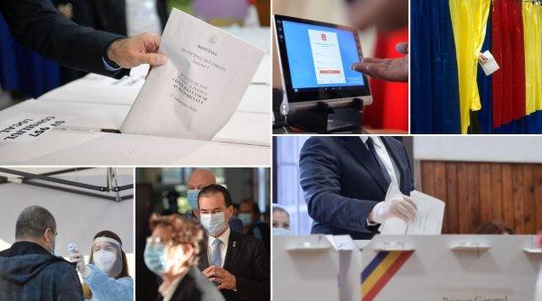 Alegeri locale 2020. Prezență surprinzătoare la vot! Peste 8 milioane de români au votat, prezența la urne depășește 44%
