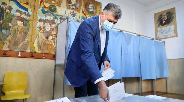 Marcel Ciolacu, după vot: Sper ca perioada umilinței să ia sfârșit