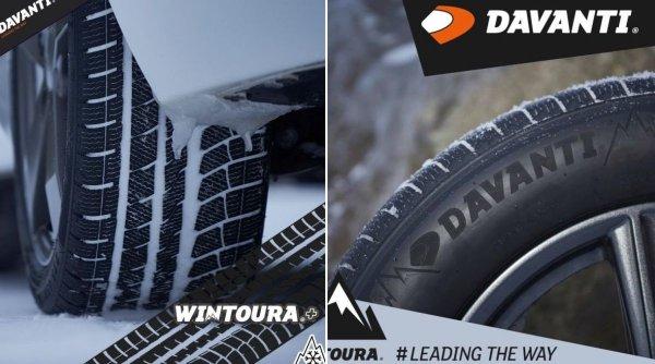 Pe sosele si in afara lor: cum poti conduce in siguranta pe timpul iernii cu anvelopele Davanti (P)